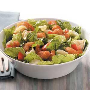 Tortellini-Shrimp Caesar Salad