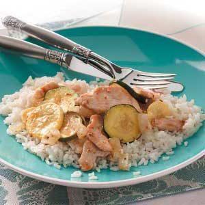 Herbed Chicken Stir-Fry