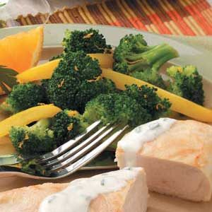 Gingered Yellow Pepper 'n' Broccoli