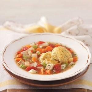 Danish Turkey Dumpling Soup