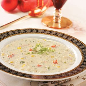 Creamy Crab Soup