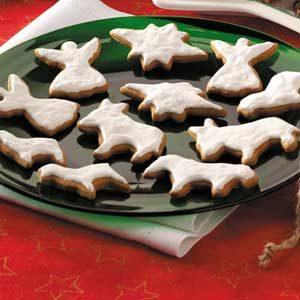 Nativity Molasses Cookies