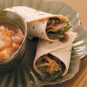 Teriyaki Veggie Wraps