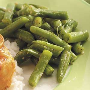 Tangy Italian Green Beans