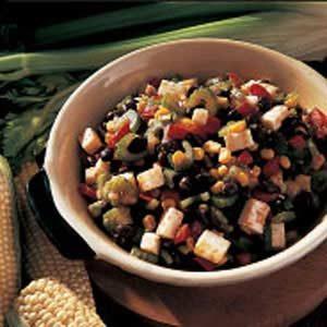 Quick Black Bean and Corn Salad