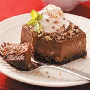 Special Pleasure Chocolate Cheesecake