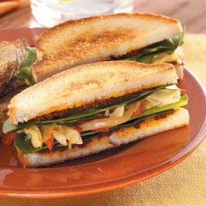 Toasted Artichoke Sandwiches