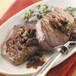 Fancy Skillet Steaks