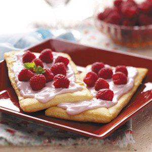 Raspberry Yogurt Pastries