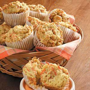 Orange Carrot Muffins