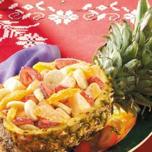 Pineapple Fruit Boat