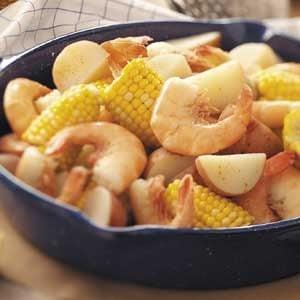 Spiced Shrimp Boil