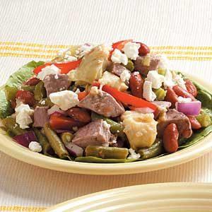 Mediterranean Lamb and Bean Salad