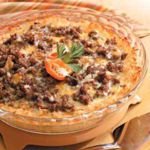 Hash Brown Sausage Bake