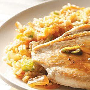 Microwave Veggie Pilaf