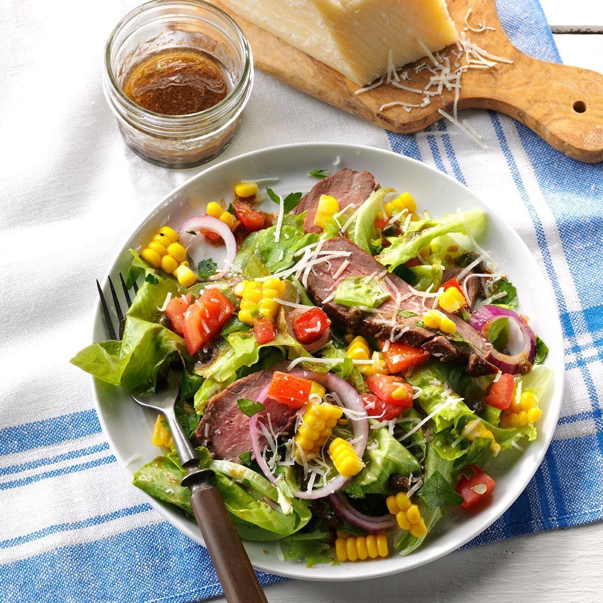 Veggie Steak Salad