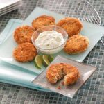 Crab Cakes with Lime Sauce