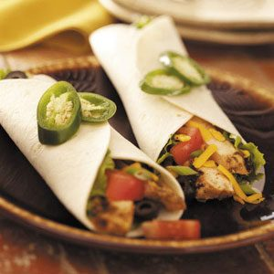 Grilled Chicken Wraps