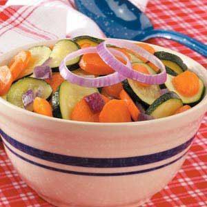 Sautéed Carrots and Zucchini