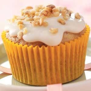 Walnut Banana Cupcakes