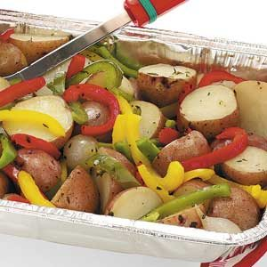 Thyme Grilled Vegetables