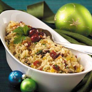 Pine Nut and Cranberry Rice Pilaf