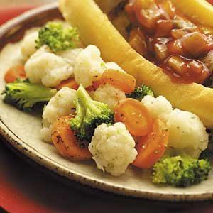 Grilled Herb Vegetables