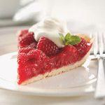 Raspberry-Glazed Pie