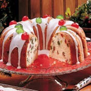 Fruity Tube Pan Cake