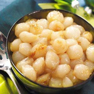 Glazed Pearl Onions