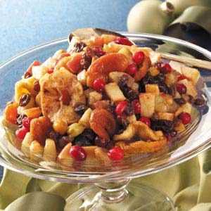 Spiced Mixed Fruit