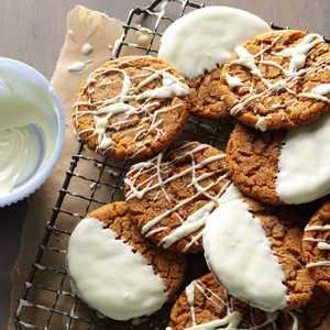 Dipped Gingersnaps