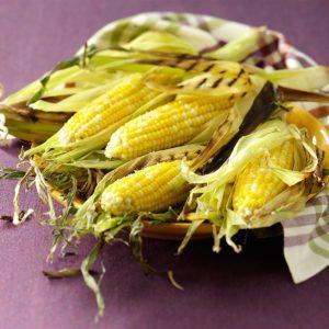 Garlic-Butter Parmesan Corn