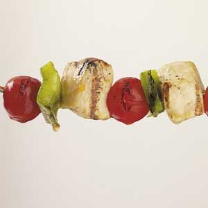 Vegetable Chicken Kabobs