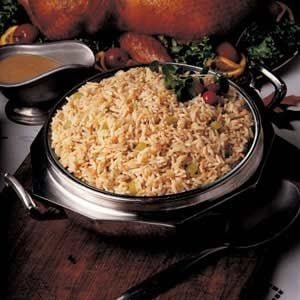 Zesty Herbed Rice Pilaf