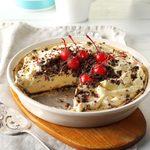Cherry Almond Mousse Pie