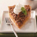 Pecan Pumpkin Pie