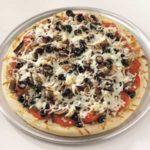 Bacon-Olive Tomato Pizza