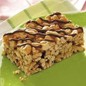 Caramel Cereal Treats