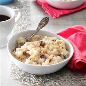 Ulysses S. Grant's Favorite: Rice Pudding