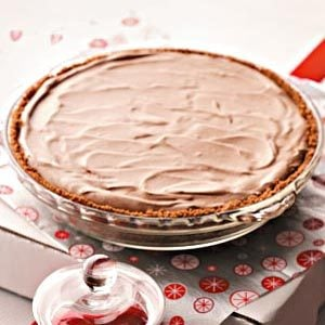 Raspberry Truffle Pie