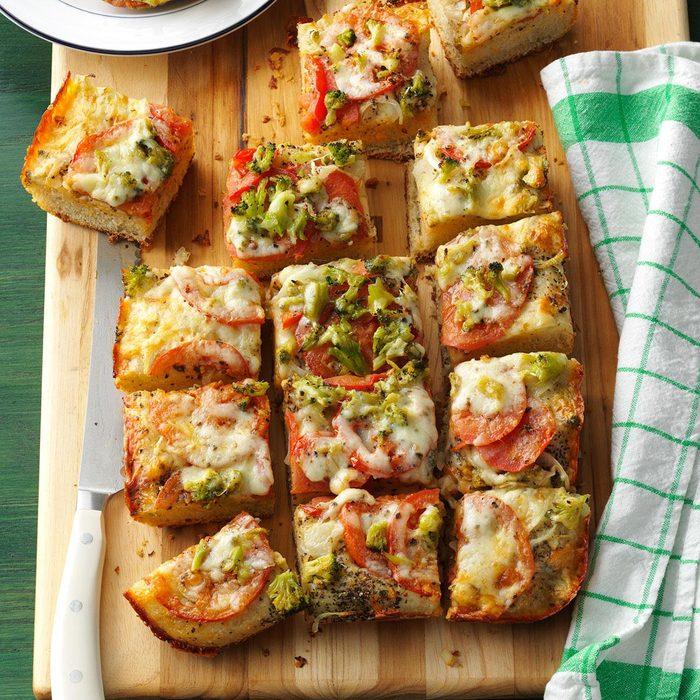 Vegetable & Cheese Focaccia