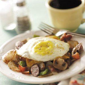 Hearty Breakfast Combo