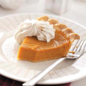 Cinnamon Pumpkin Pie