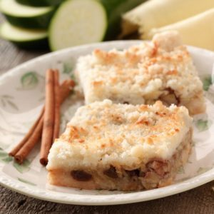 Mock Apple Pie Squares