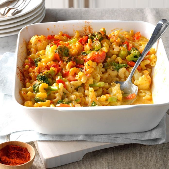 Oregon: Veggie Macaroni & Cheese