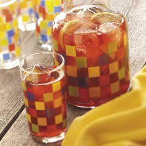 Iced Cranberry-Mint Tea