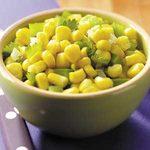 Cilantro Corn Saute