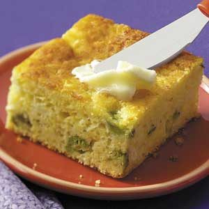 Cornbread with Broccoli and Cheese
