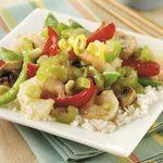 Lemon Shrimp Stir-Fry